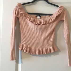 Venus Long Sleeve crop top